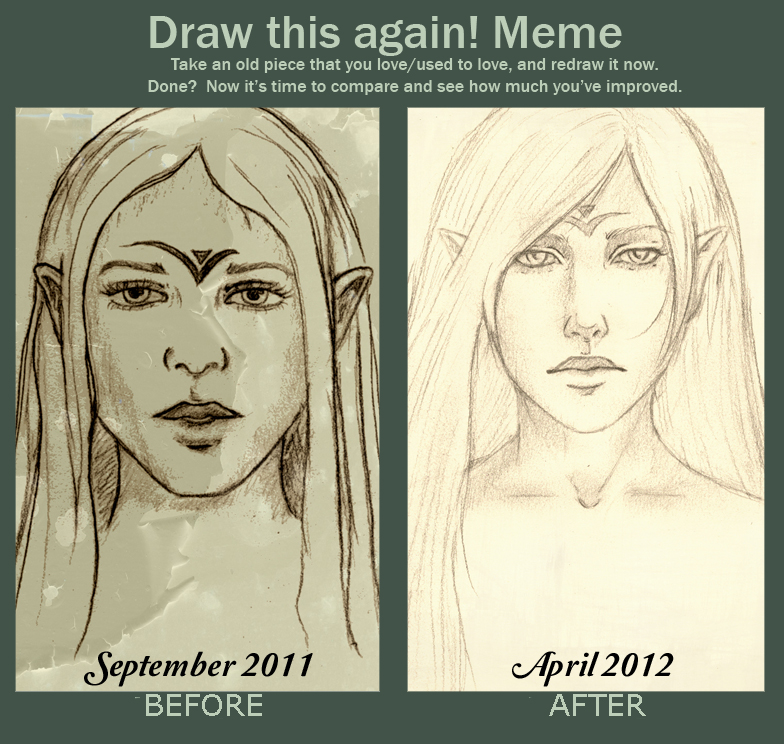 Meme - Draw this again by Gnewi