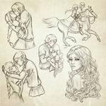 Sketch dump - Jurre and Emrah