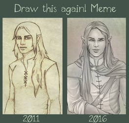Draw this again meme - Gareth by Gnewi