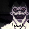 Ryuk Icon: Laugh by just-a-web-artist