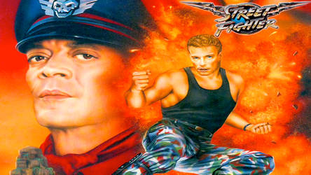 Street Fighter The Movie - Bison and Guile by ScorePN44