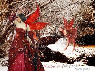 Winter in fairyland by ArwenGernak