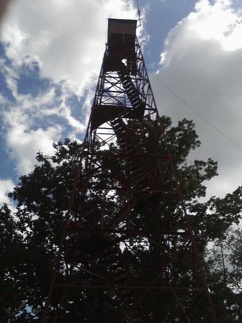 Fire tower by KonekoKaburagi