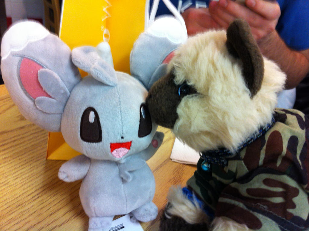 Daisuke meets a friend by KonekoKaburagi