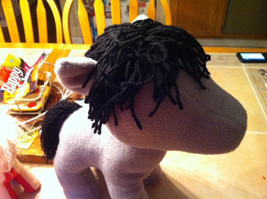 Work in Progress Pony. by KonekoKaburagi