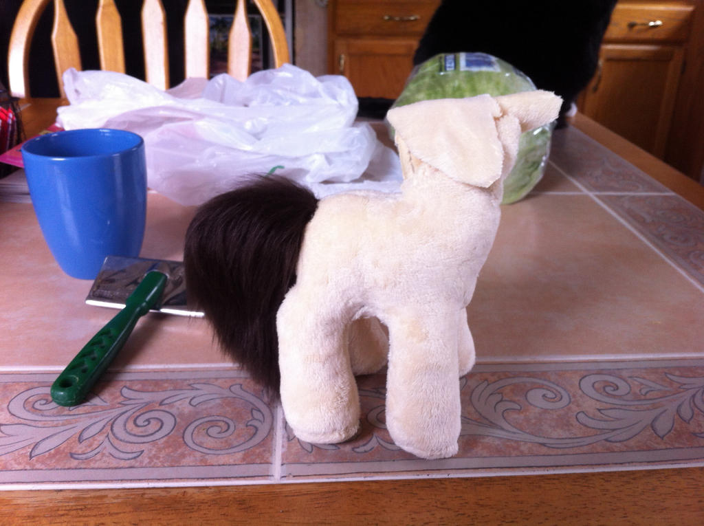 Pony in progress by KonekoKaburagi