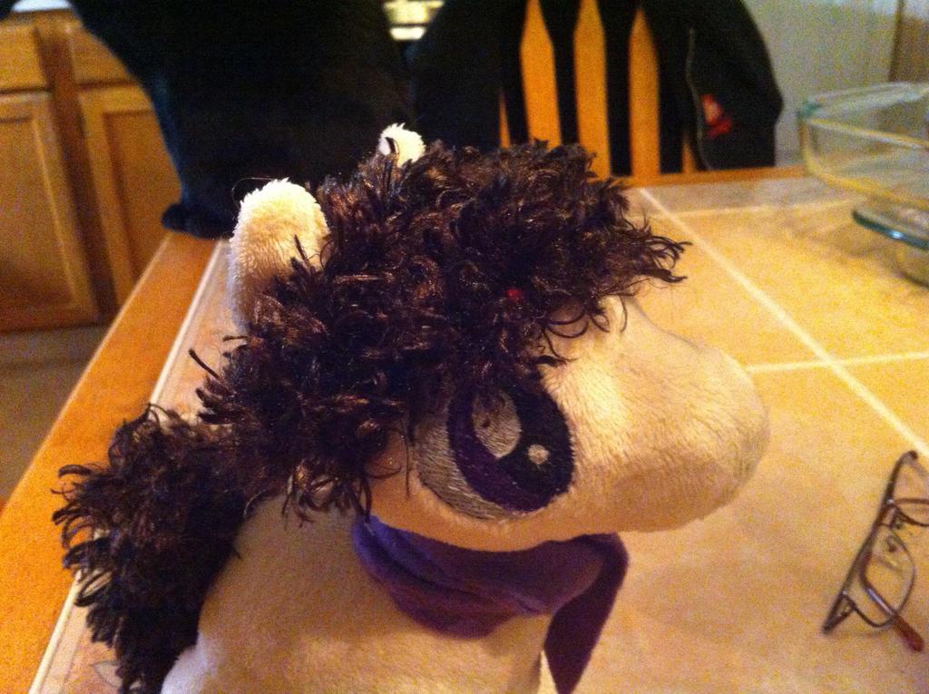Sherlock Pony's new hair-do by KonekoKaburagi
