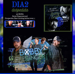 Dia 2 ~ Bobby Singer by HelenaGrimm