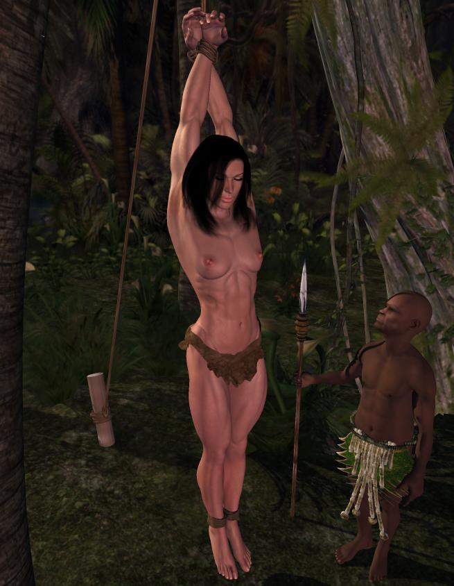 Apologise, but, Women captured in the jungle naked will not