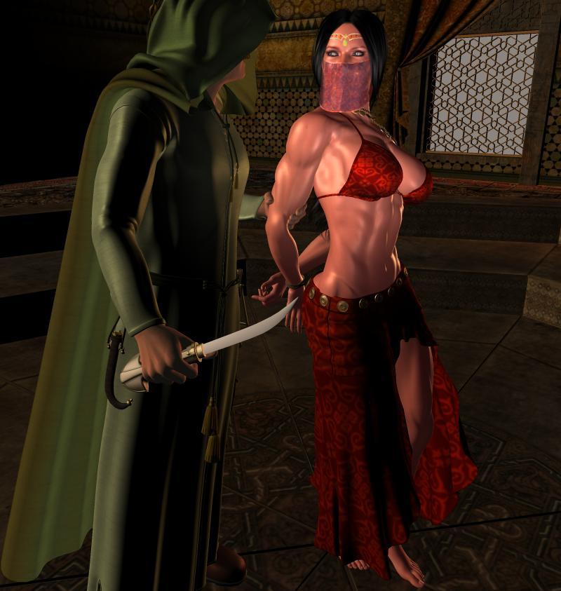 Erotic master slave costume holloween