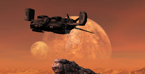 Aliens Marine Dropship 00