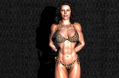 Muscle Girl Cosplay