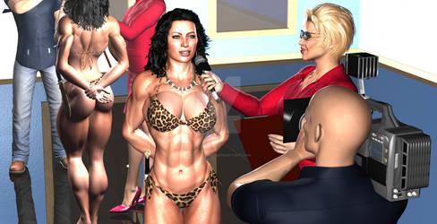 test cosplay bodybuilder JG