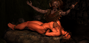 Test Sacrifice Cave