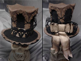 Victorian Lolita mini top hat by MissNicka