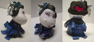 Hippo Geisha Munny by MissNicka