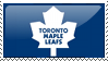 Toronto Maple Leafs Stamp by starchild-rocks