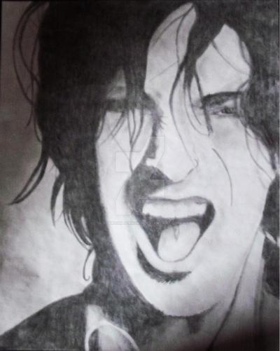Tommy Lee portrait by starchild-rocks