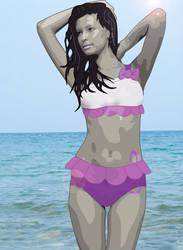 Octavia Melody : Beach 1 Covered