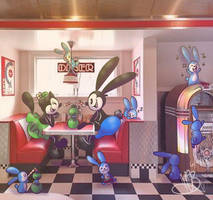 DSNY   Diner Date by MynnuB