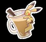 PKMN | Pika-Chai Latte ( + Speedpaint on YT)