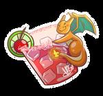 PKMN | Cherry-zard Cocktail ( + Speedpaint on YT)