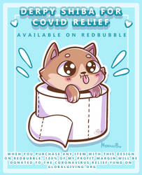 Derpy Shiba for COVID Relief (RB + YT)