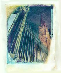 Polaroid Transfer - Trinity by TheDreamerWorld