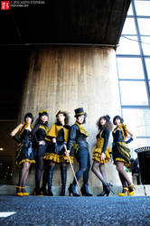 NYCC 10 - Twin Bee Fashion by TheDreamerWorld