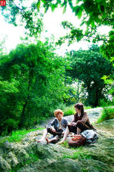 Hobbits in Central Park by TheDreamerWorld
