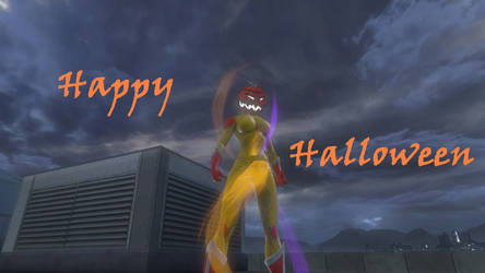 DCUO Lunar Woman Happy Halloween!