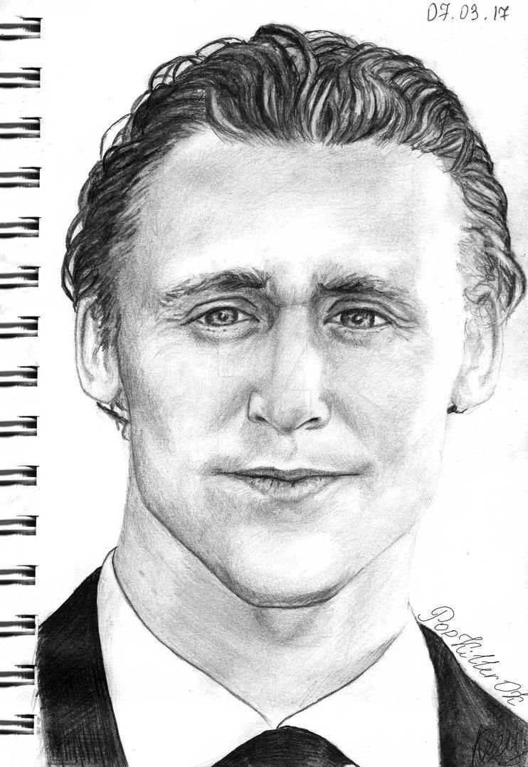 Tom Hiddleston by PopKIllerOK