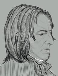 Severus Snape by PopKIllerOK