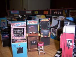 Arcade Floor Left by WeirdFantasticToys