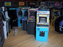 Arcade Floor Right by WeirdFantasticToys