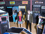 The Doctor and Amy in the Arcade II