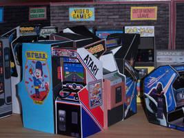 Pole Position on the Arcade Floor by WeirdFantasticToys