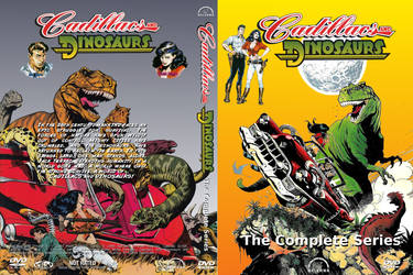 Cadillacs and Dinosaurs DVD Cover II by WeirdFantasticToys