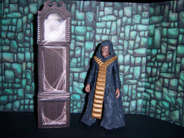 Deadly Assassin - The Master and His TARDIS by WeirdFantasticToys