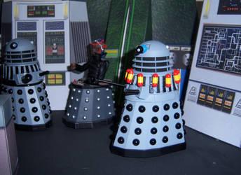 Suicide Dalek - Destiny of the Daleks by WeirdFantasticToys