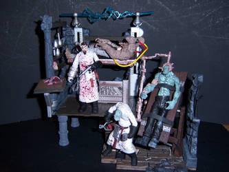 Dr. Frankenstein's Laboratory by WeirdFantasticToys