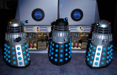 The Daleks by WeirdFantasticToys