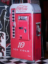 Vendo 81d Coke Machine by WeirdFantasticToys