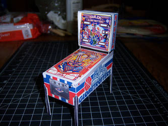 Harlem Globetrotters on Tour Pinball Machine by WeirdFantasticToys