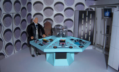 First Doctor Control Room by WeirdFantasticToys
