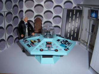 First Doctor Control Room II by WeirdFantasticToys