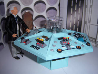 First Doctor Control Room III by WeirdFantasticToys