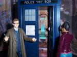 Martha Enters the TARDIS