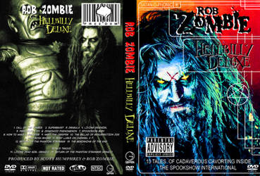 Rob Zombie Hellbilly Deluxe DVD Cover by WeirdFantasticToys