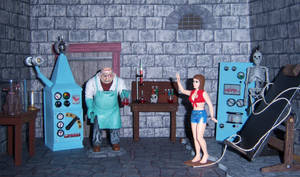 Dr. Deadly's Laboratory by WeirdFantasticToys